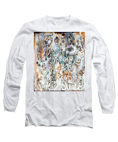 Past Life Trauma Inverted Long Sleeve T-Shirt