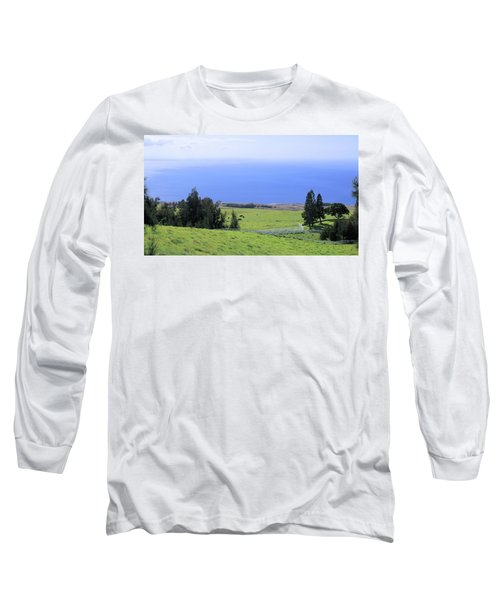 Pasture By The Ocean Long Sleeve T-Shirt