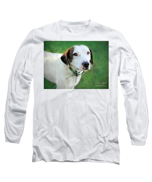 Long Sleeve T-Shirt featuring the photograph ''patch'' by Marion Johnson