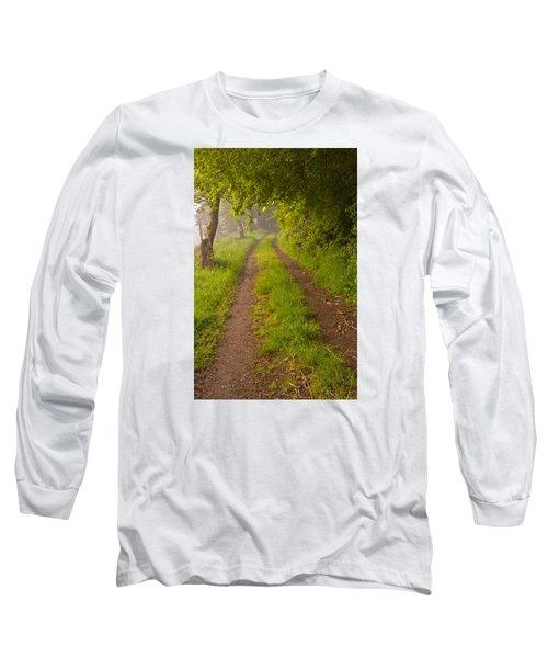 Path From Bullock Lake Long Sleeve T-Shirt