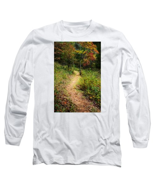 Path In The Prairie Long Sleeve T-Shirt
