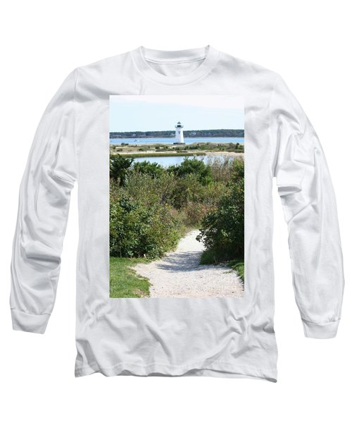 Path To Edgartown Lighthouse Long Sleeve T-Shirt