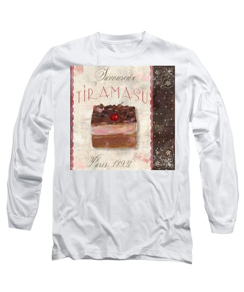 Patisserie Tiramasu  Long Sleeve T-Shirt
