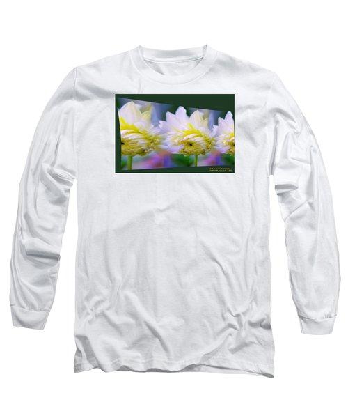 Pattern 313 _ Side Reflect Long Sleeve T-Shirt