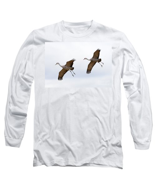 Pattern Of Two Long Sleeve T-Shirt