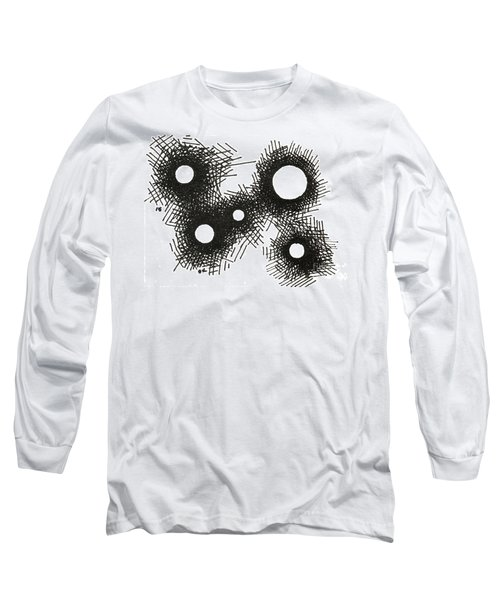 Patterns 1 2015 - Aceo Long Sleeve T-Shirt by Joseph A Langley