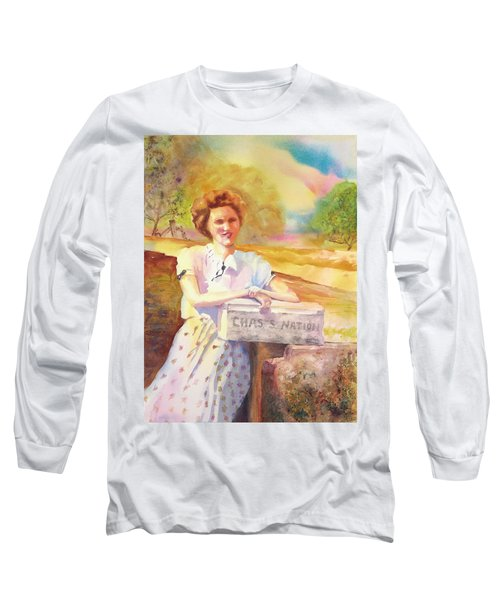 Patty Waiting For Richard Long Sleeve T-Shirt by Tara Moorman