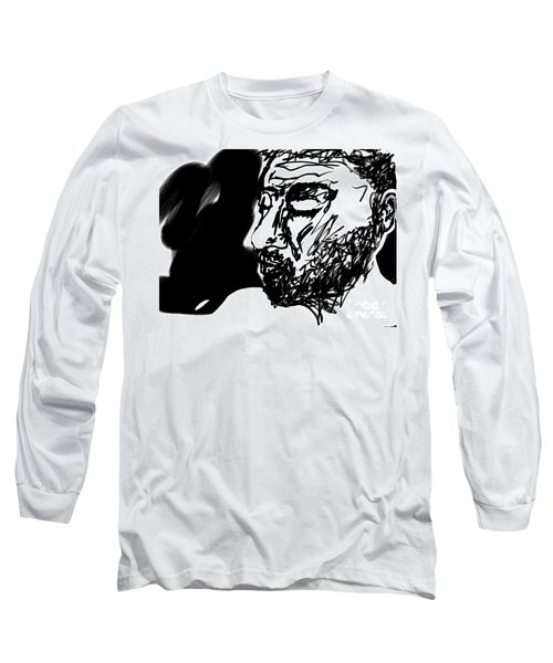 Paul Ramnora Self-portrait Long Sleeve T-Shirt