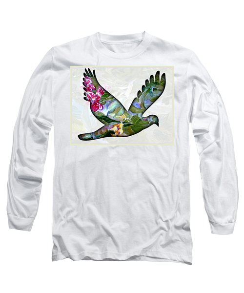 Peace For Peace Long Sleeve T-Shirt by Mindy Newman