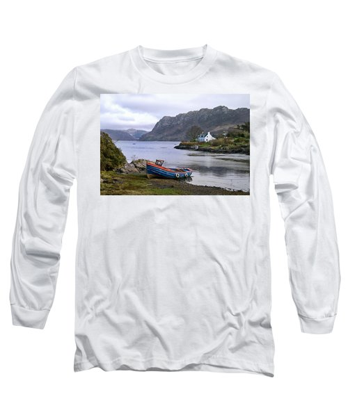 Peaceful Plockton Long Sleeve T-Shirt by Jacqi Elmslie