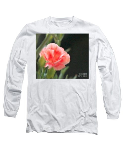 Peach Dream Long Sleeve T-Shirt by Cathy Dee Janes