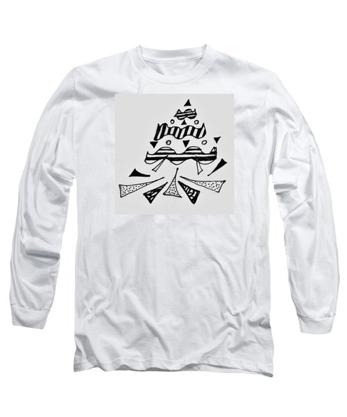 Peak Long Sleeve T-Shirt by Martin Cline