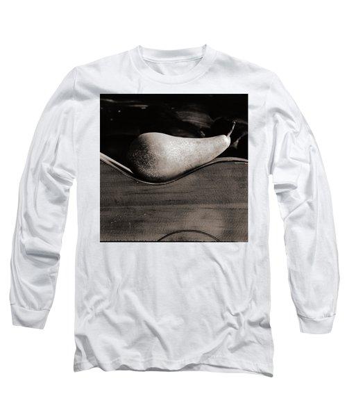 Pear #4745 Long Sleeve T-Shirt by Andrey Godyaykin