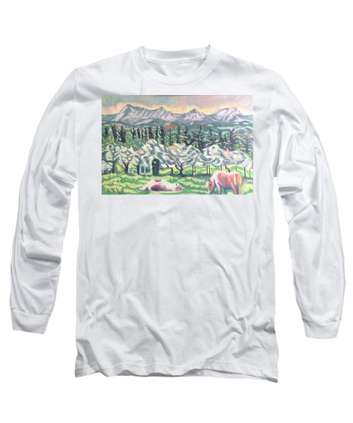 Pear Trees Long Sleeve T-Shirt