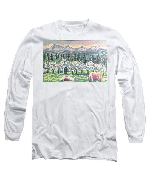 Pear Trees Long Sleeve T-Shirt