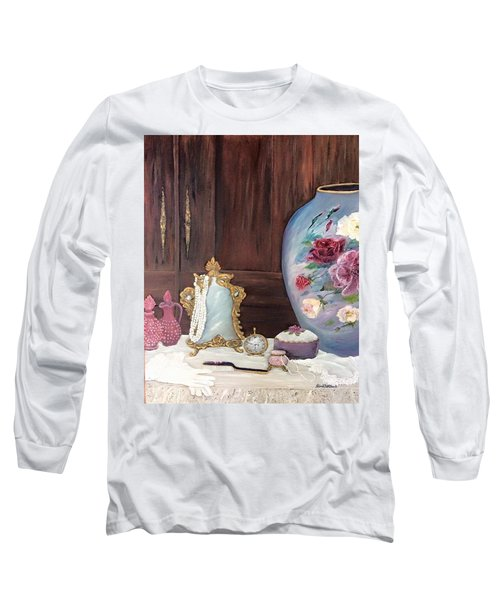 Pearls And Lace Long Sleeve T-Shirt