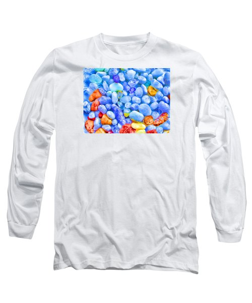 Pebble Delight Long Sleeve T-Shirt by Andreas Thust