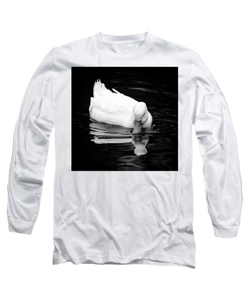 Peek-ing Duck Long Sleeve T-Shirt