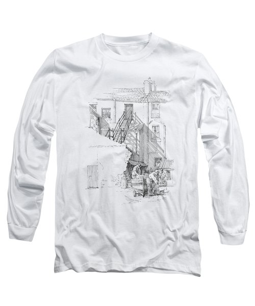 Peel Back Street Long Sleeve T-Shirt