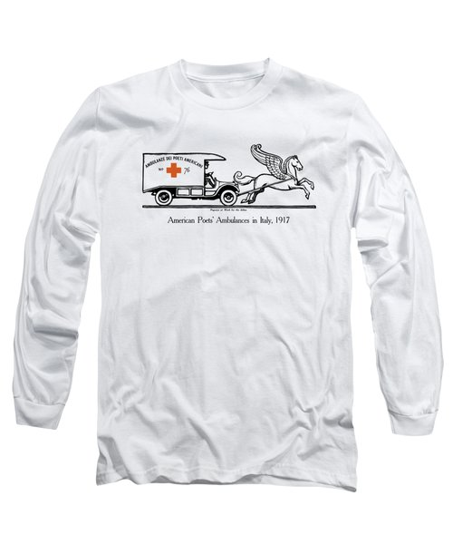 Pegasus At Work For The Allies Long Sleeve T-Shirt
