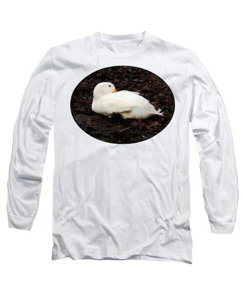 Pekin Duck Long Sleeve T-Shirt