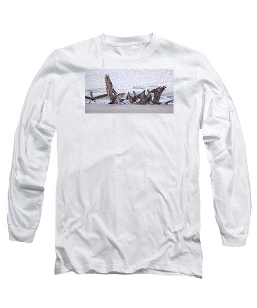 Pelican Brunch Long Sleeve T-Shirt