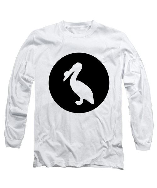 Pelican Long Sleeve T-Shirt by Mordax Furittus
