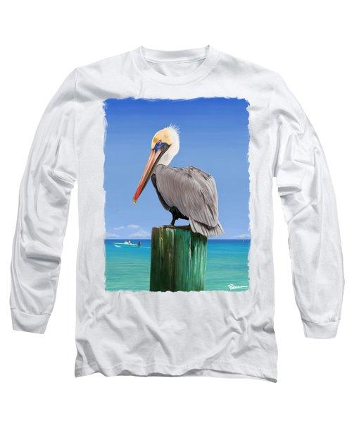 Pelicans Post Long Sleeve T-Shirt