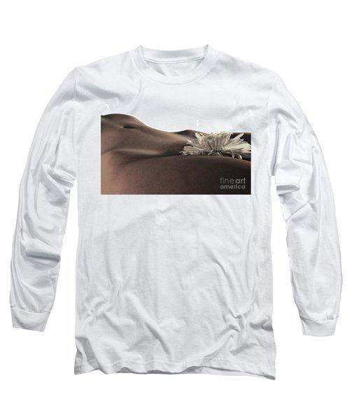 Pelvis Petals Long Sleeve T-Shirt by Robert WK Clark