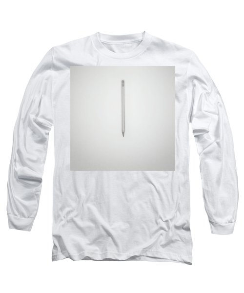 Pencil On A Blank Page Long Sleeve T-Shirt