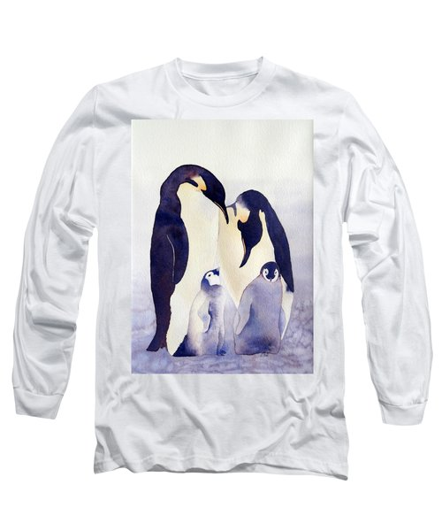 Penguin Family Long Sleeve T-Shirt