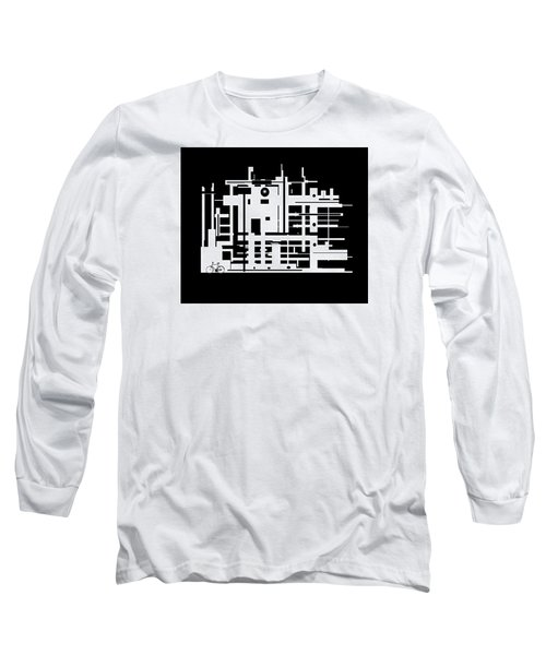 Penman Original-325- The Visitor Long Sleeve T-Shirt by Andrew Penman