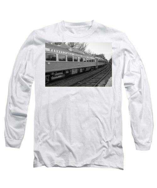 Pennsylvania Reading Seashore Lines Train Long Sleeve T-Shirt