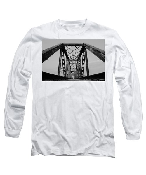 Pennsylvania Steel Co. Railroad Bridge Long Sleeve T-Shirt