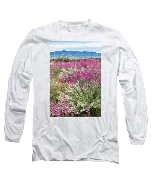 Penstemon At Black Hills Long Sleeve T-Shirt