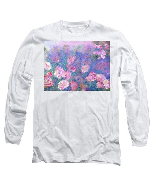 Peonies Long Sleeve T-Shirt