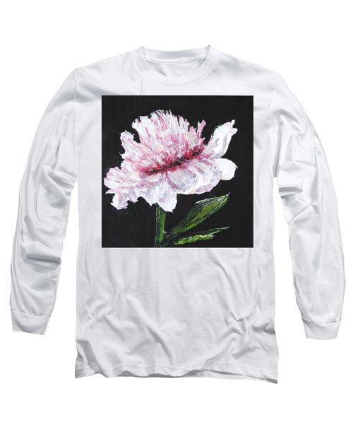 Peony Bloom Long Sleeve T-Shirt
