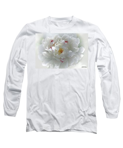 Peony Long Sleeve T-Shirt by Bonnie Willis