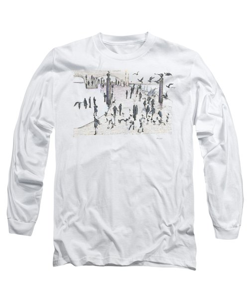 People And Birds, 19 December, 2015 Long Sleeve T-Shirt
