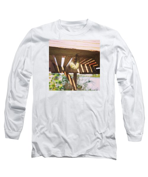 Long Sleeve T-Shirt featuring the photograph Peparing For Transformation by Rebecca Wood