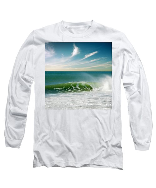 Perfect Wave Long Sleeve T-Shirt by Carlos Caetano
