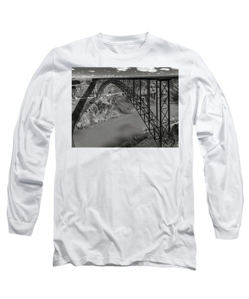 Perrine Bridge, Twin Falls, Idaho Long Sleeve T-Shirt