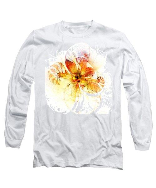 Petals Of Gold Long Sleeve T-Shirt