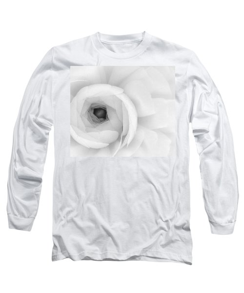 Petals Unfurling Long Sleeve T-Shirt