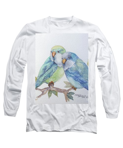 Pete And Repete Long Sleeve T-Shirt by Marcia Baldwin