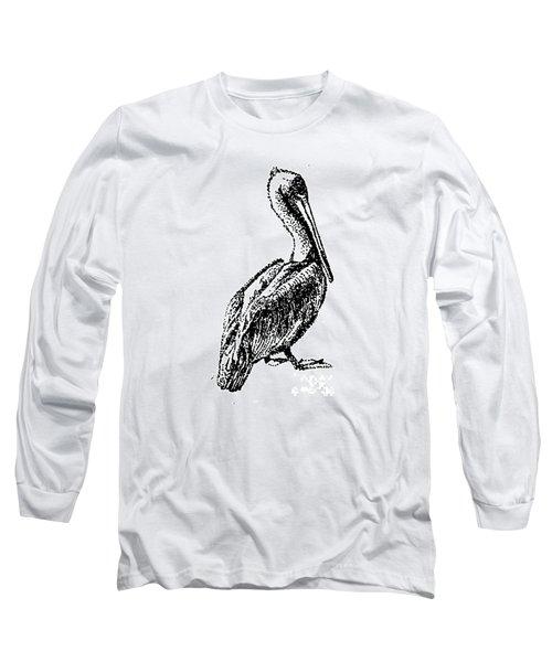 Pete The Pelican Long Sleeve T-Shirt