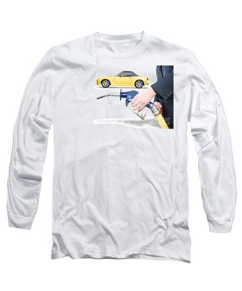 Petrol Bowser Pump Long Sleeve T-Shirt