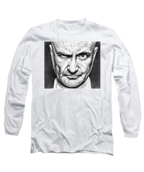 Phil Collins Long Sleeve T-Shirt