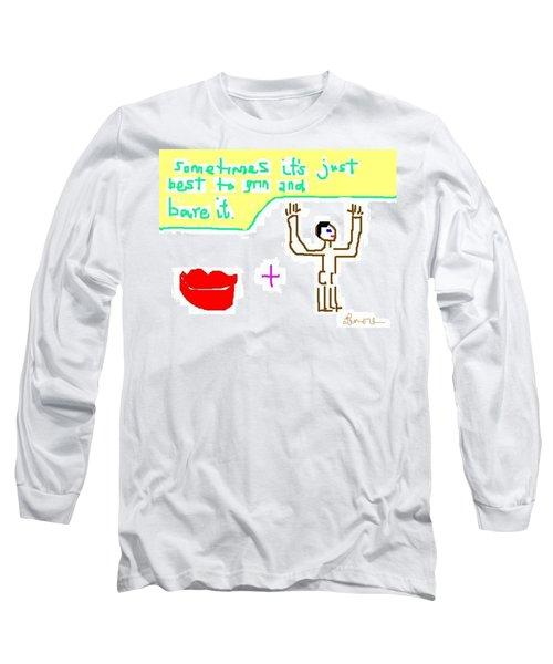 Philosophy Long Sleeve T-Shirt by Lenore Senior
