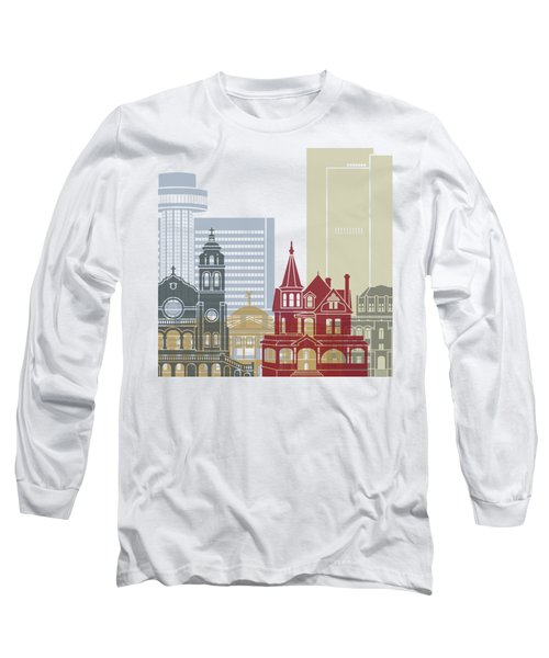 Phoenix Skyline Poster Long Sleeve T-Shirt